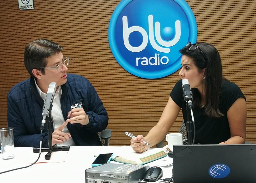 346443_BLU Radio. Miguel Uribe Turbay / Foto: BLU Radio