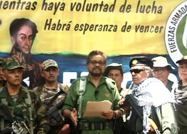 370344_Disidentes 'Santrich', 'Iván Márquez' y 'El Paisa' // Foto: Captura video suministrado