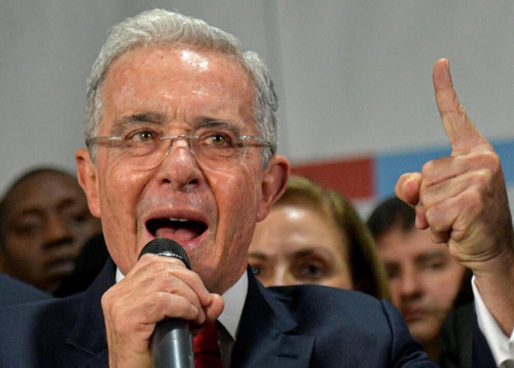 373816_Álvaro Uribe // Foto: AFP