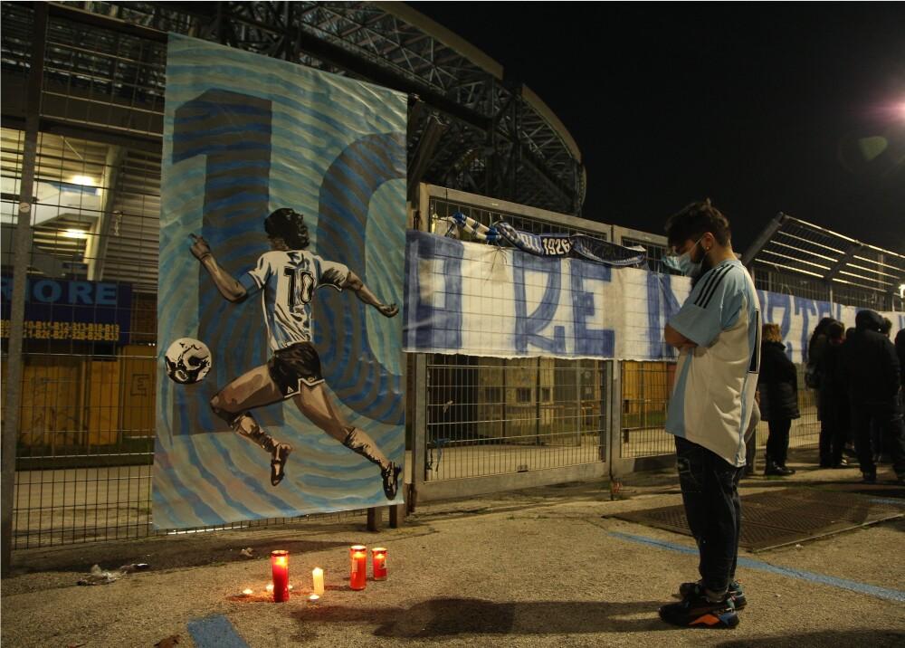 Homenaje a Diego Maradona_Foto_AFP.jpg