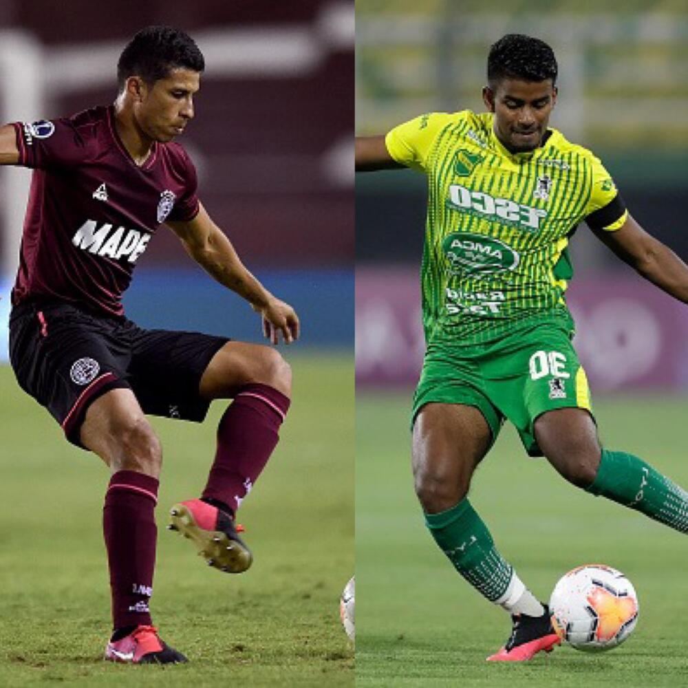 Alexis Pérez y Raúl Loaiza