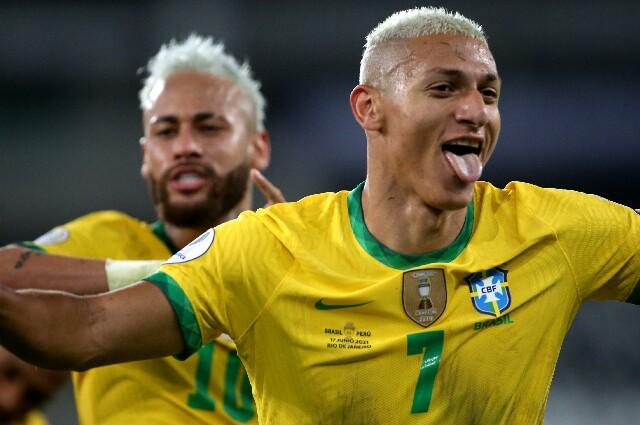 Richarlison, tras la victoria de Brasil sobre Colombia