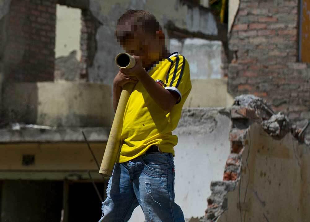 333967_BLU Radio // Reclutamiento ilegal de menores // Foto: AFP, imagen de referencia