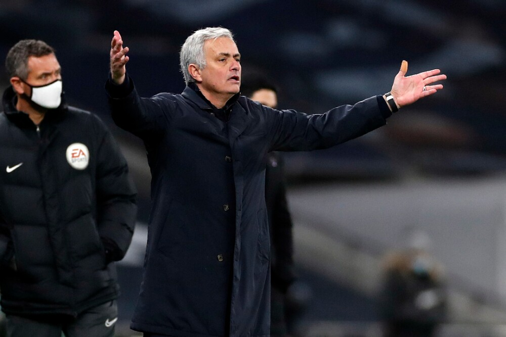 José Mourinho Tottenham 061220 AFP E.jpg