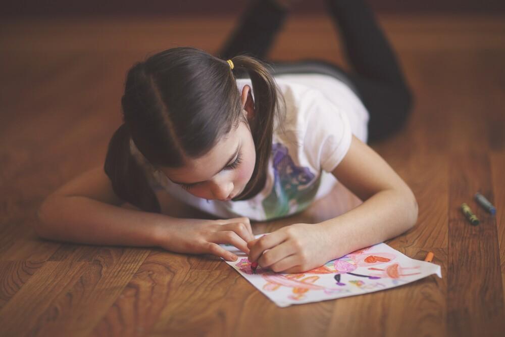 Dibujo- niña