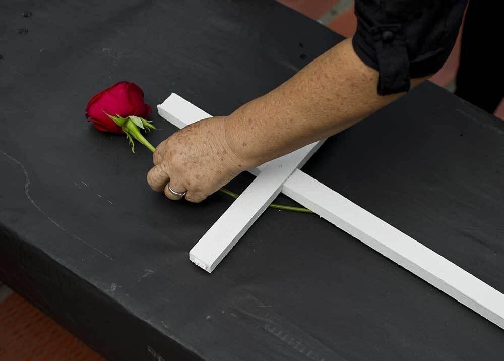 323628_BLU Radio // Ataques y asesinatos de defensores de derechos humanos en Colombia // Foto: AFP