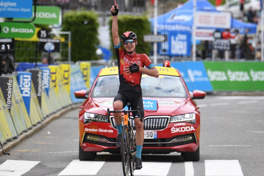Mark Padun fue el ganador de la etapa 8 del Critérium del Dauphiné 2021.