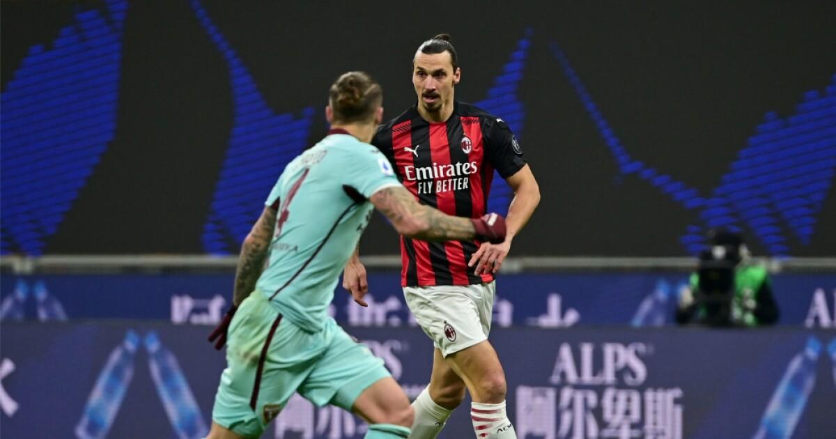 Milan derrotó a 2-0 Torino e Ibrahimovic volvió a jugar