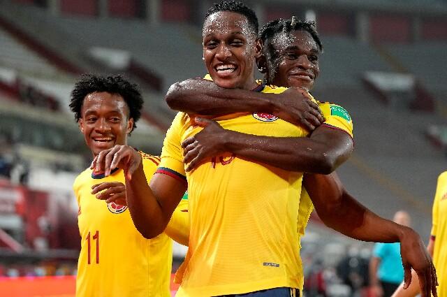 Yerry Mina, en la Selección Colombia