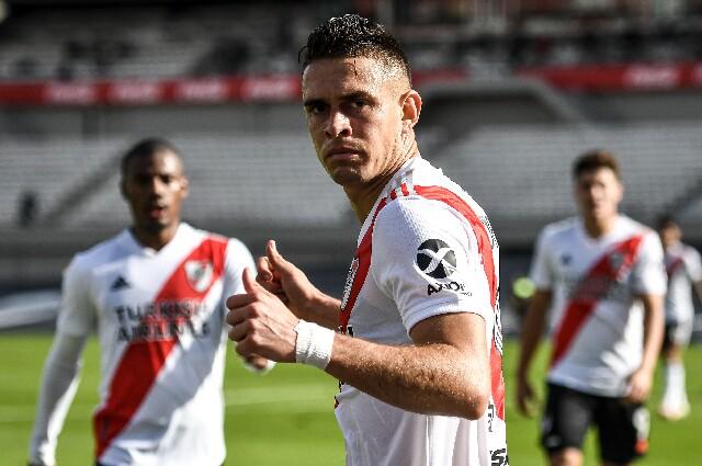 Rafael Santos Borré, en River Plate
