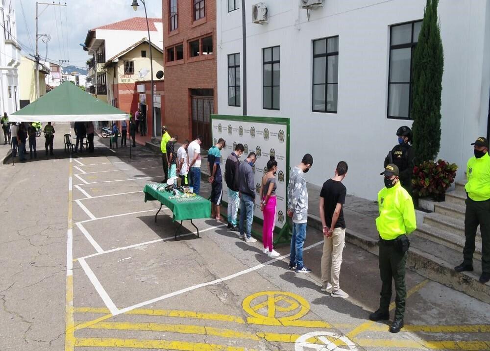 369687_BLU Radio. Capturas por diferentes delitos / Foto: Policía Bucaramanga
