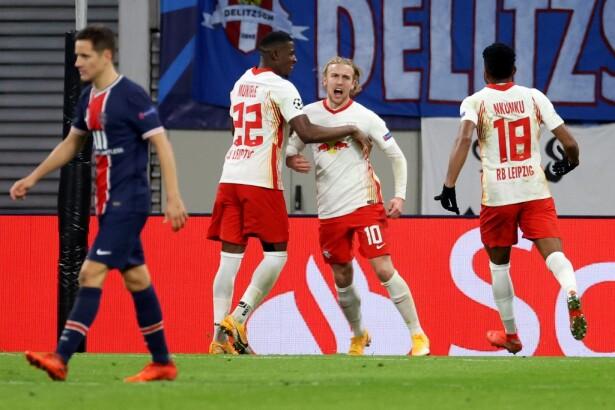 PSG no levanta cabeza en Champions League: perdió 2-1 con Leipzig y se  complicó en el grupo H