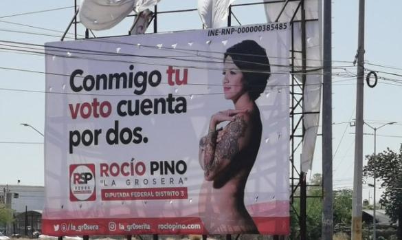 Rocio Pino ofrece implantes de seno