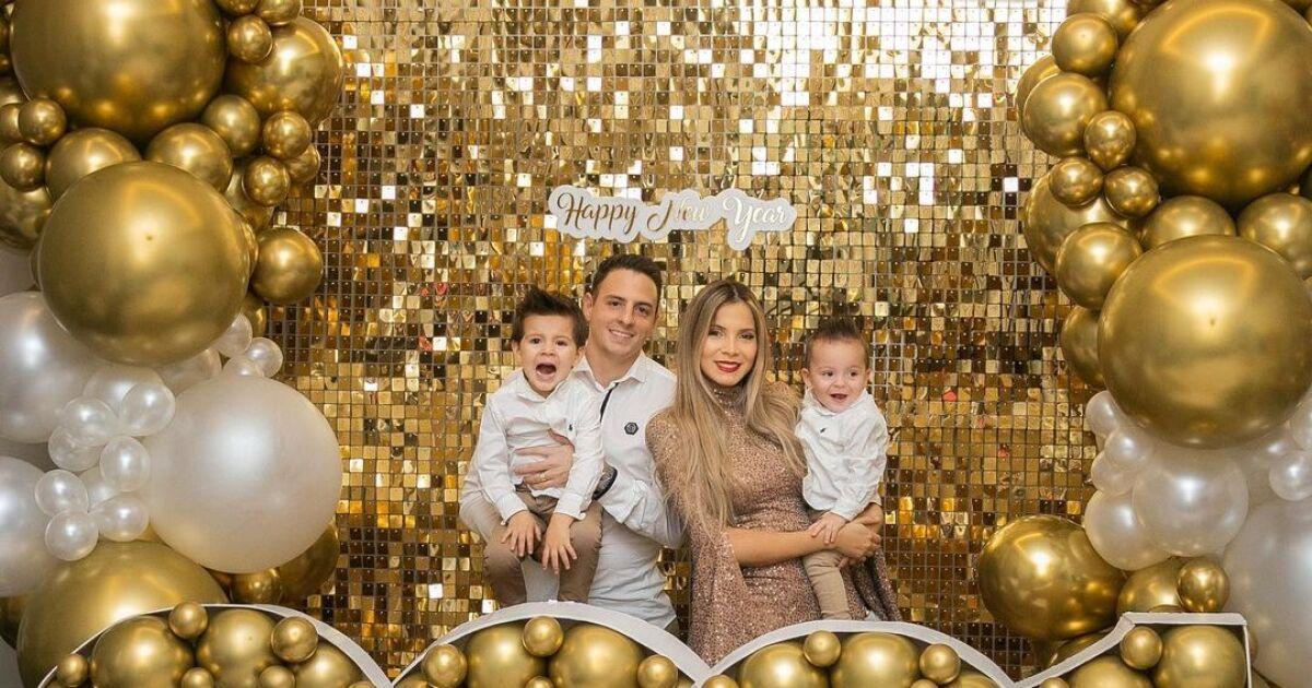 [Fotos] Así recibieron los famosos el Año Nuevo 2021