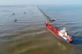 buque 'Nórdico Wolverine', de Cartagena, presentó una novedad de encallamiento en Bocas de Ceniza.jpg