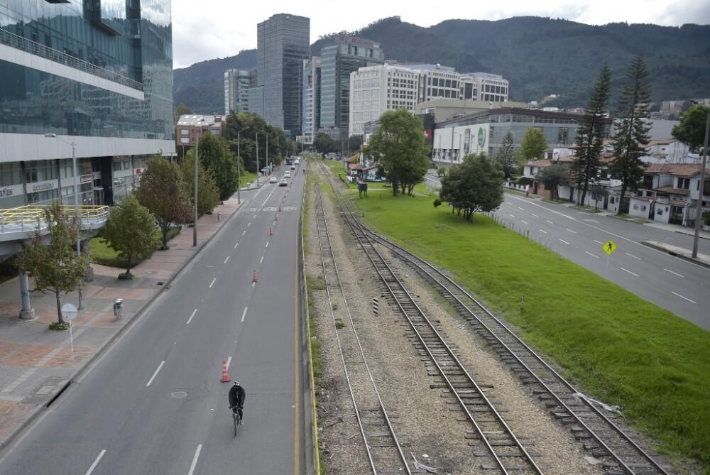 Toque de queda en Bogotá
