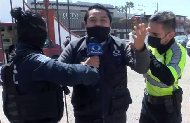 reportero arrestado en México Said Rodríguez
