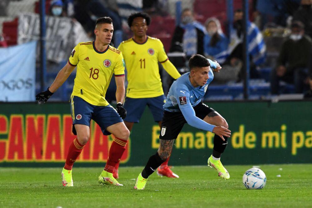 Santos Borré y Brian Rodríguez