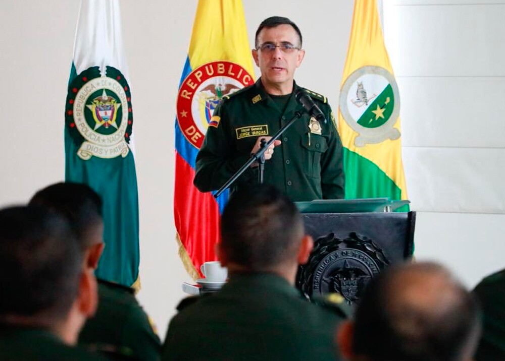 348305_General Jorge Luis Vargas, comandante de Seguridad Ciudadana de la Policía // Foto: Twitter @PosgradosPonal