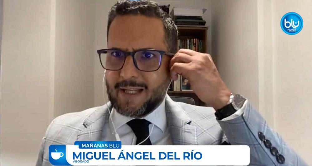 Abogado Pacto Histórico Miguel Álgen Del Río