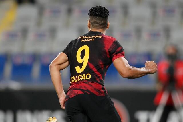 Falcao García, futbolista colombiano