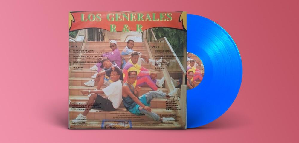 642126_Portada álbum Los Generales R Y R - Colmusica,1991