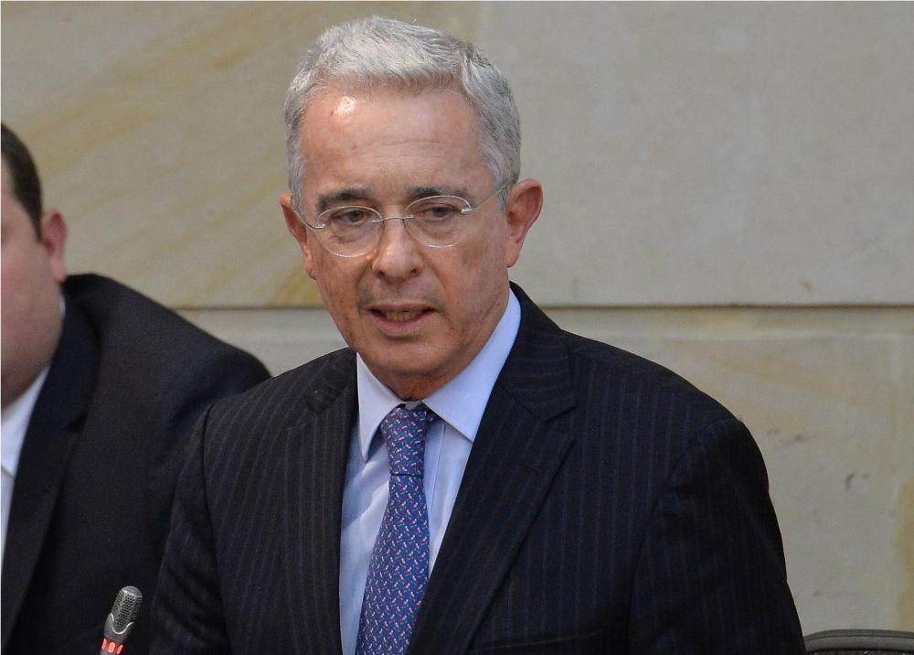 319185_Blu Radio // Álvaro Uribe // Foto: AFP