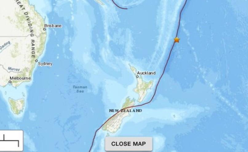 Terremotos Nueva Zelanda
