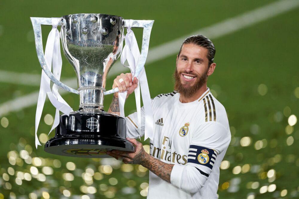 Sergio Ramos campeón con Real Madrid