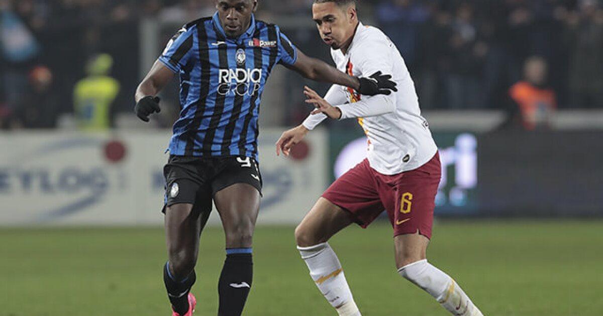 Duván Zapata, indispensable en el Atalanta: será titular contra Roma, por Serie A