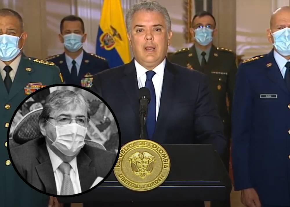 Duque lamenta muerte de Carlos Holmes Trujillo