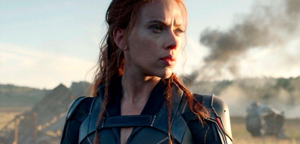Scarlett Johansson como Black Widow o Viuda negra.