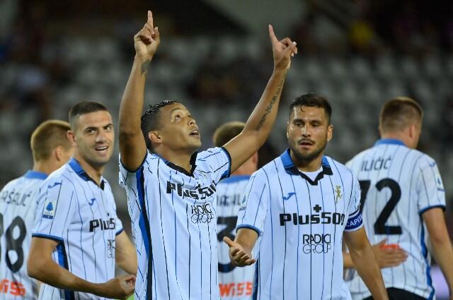 Luis Fernando Muriel anotó un golazo contra Torino