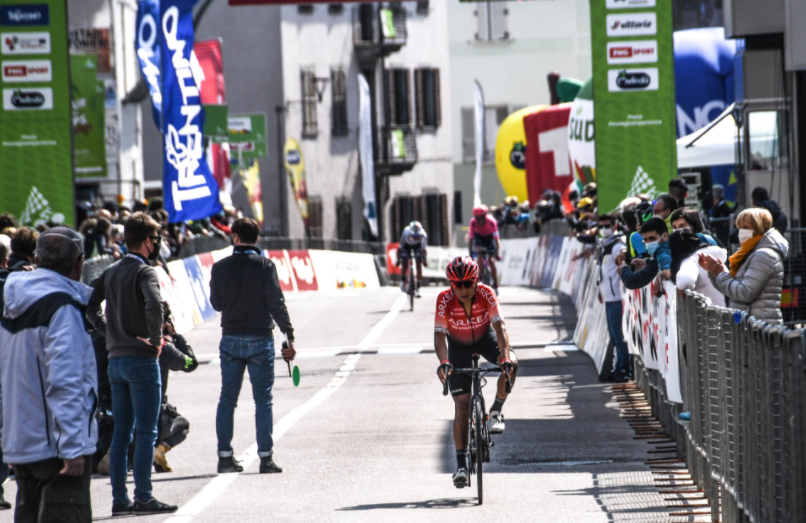 Nairo Quintana es séptimo en la general del Tour de los Alpes tras la etapa 4.