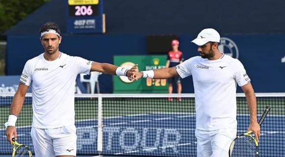 Juan Sebastián Cabal y Robert Farah clasificaron a cuartos de final del Masters 1000 de Cincinnati