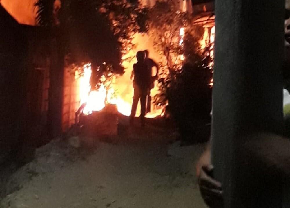 353210_BLU Radio. Incendio en El Playón / Foto: Defensa Civil