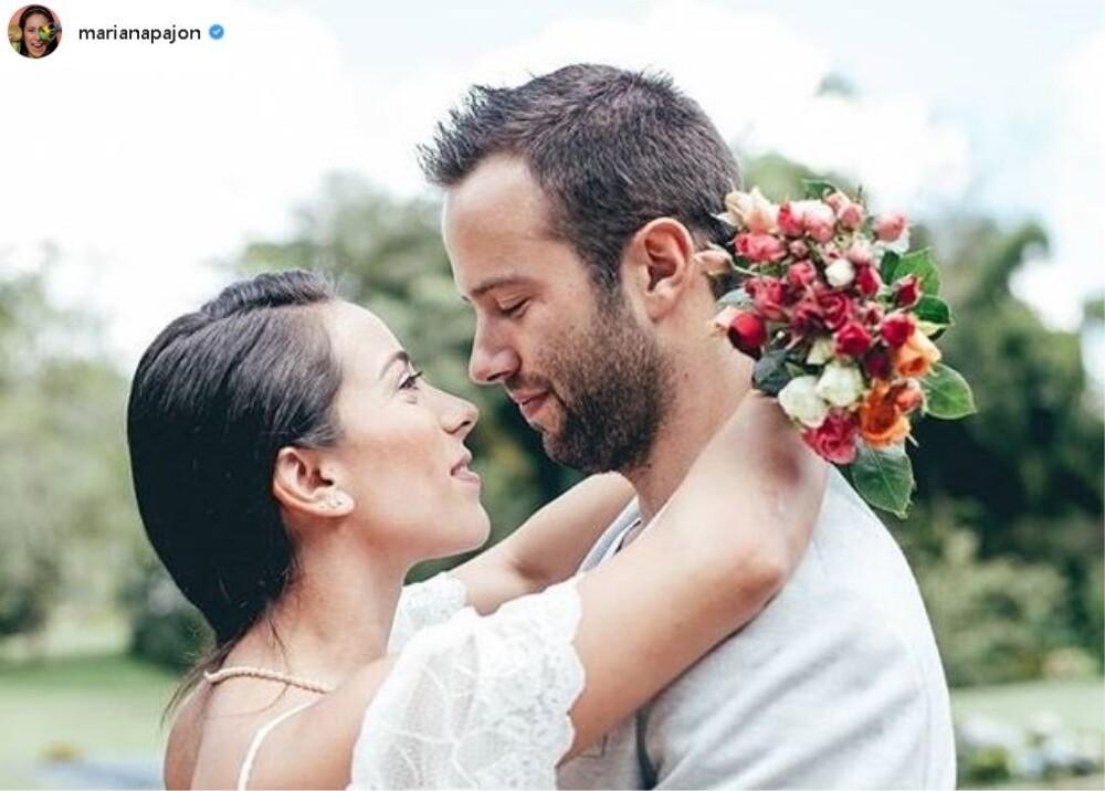 9189_La Kalle - Mariana Pajón y su esposo - Foto referencia Instagram