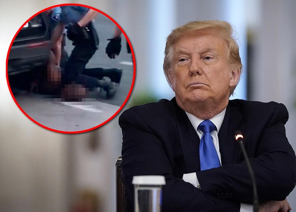 371125_Donald Trump - asesinato de George Floyd // Fotos: AFP, imágenes de referencia