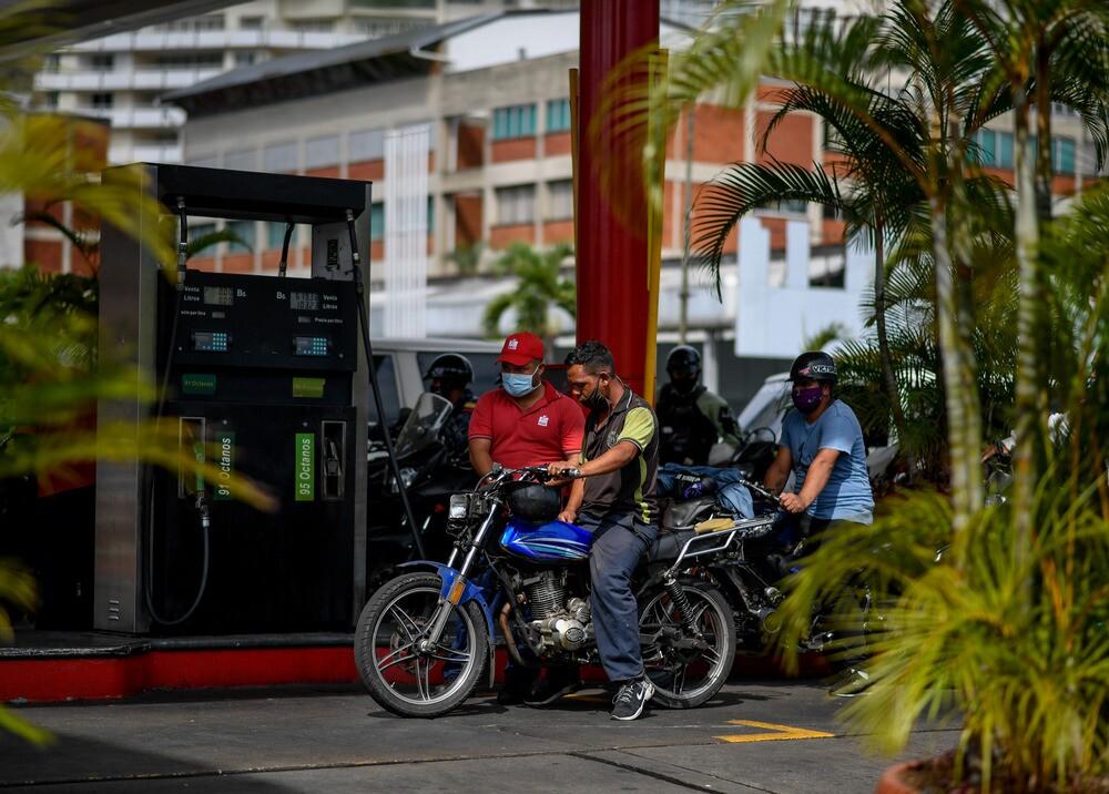 364738_Gasolina en Venezuela / Foto: AFP