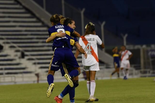 Boca Juniors vs River Plate femenino