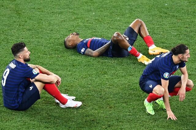 Selección de Francia, en la Eurocopa
