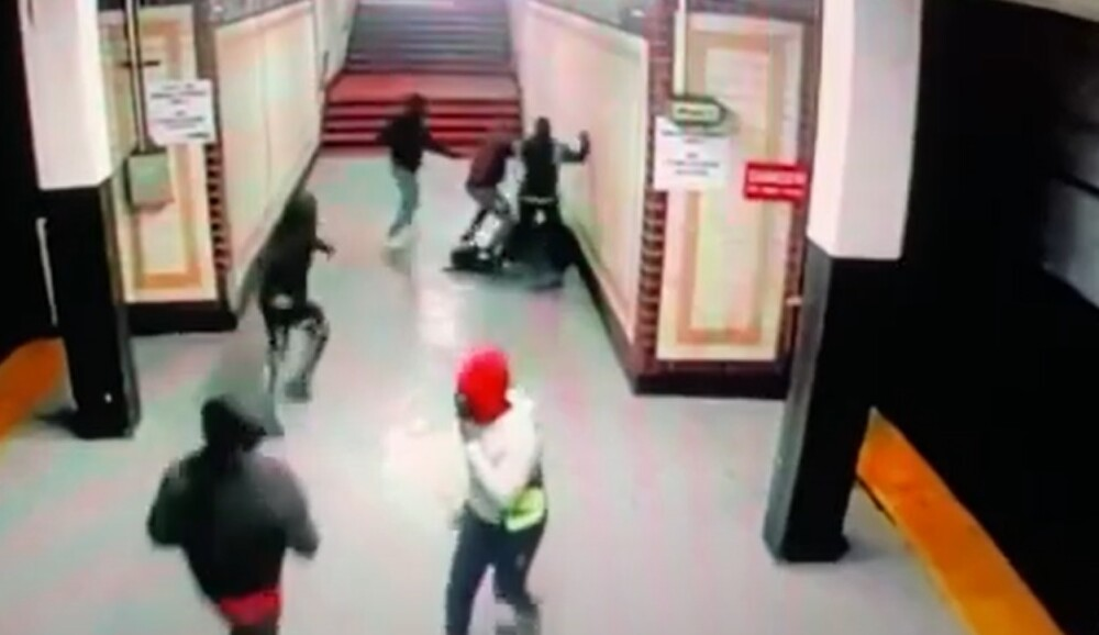 Ataque a trabajador del metro en Estados Unidos
