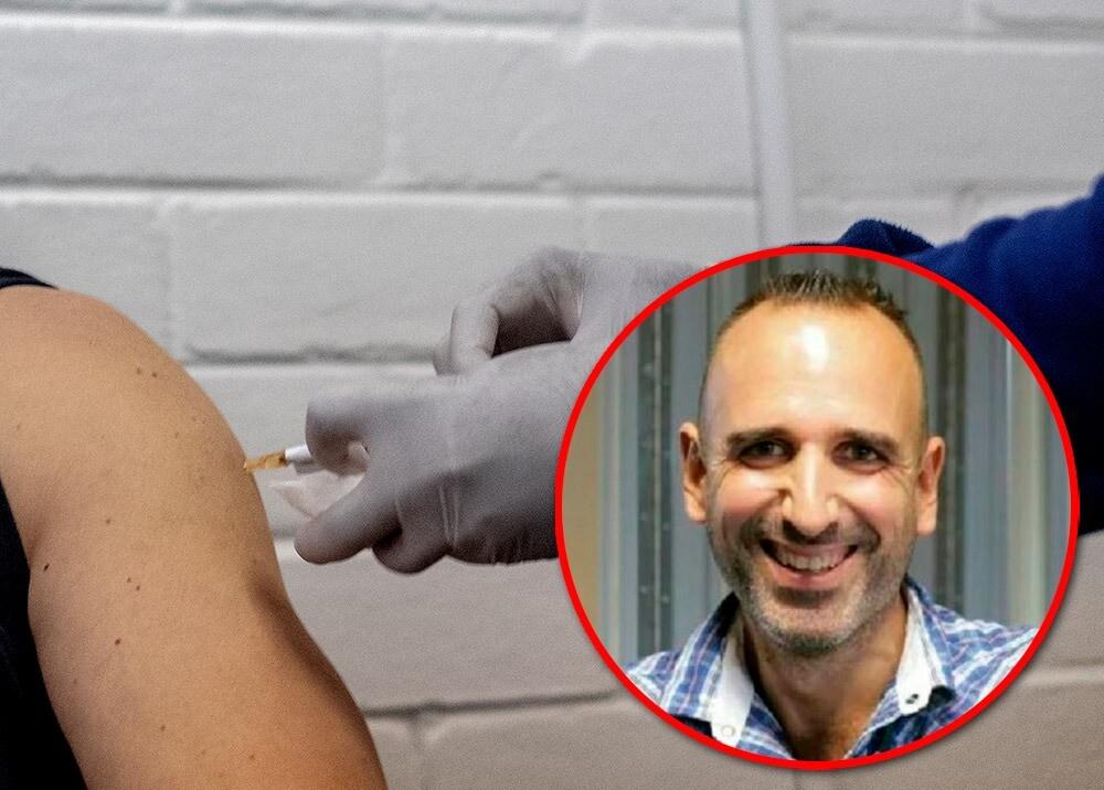 372094_Prueba de vacuna contra el COVID-19 // Fotos: AFP, LinkedIn Joan Pons
