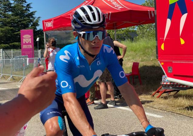 Miguel Ángel López será uno de los ciclistas colombianos en el Tour de Francia 2021.