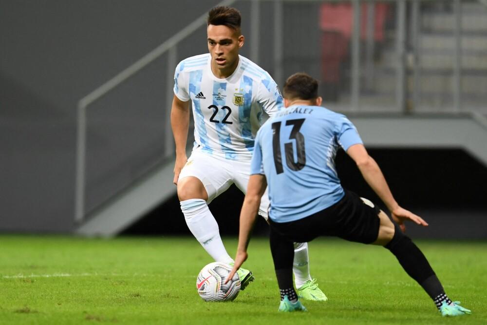 Lautaro Martínez, jugador argentino. AFP (1).jpg