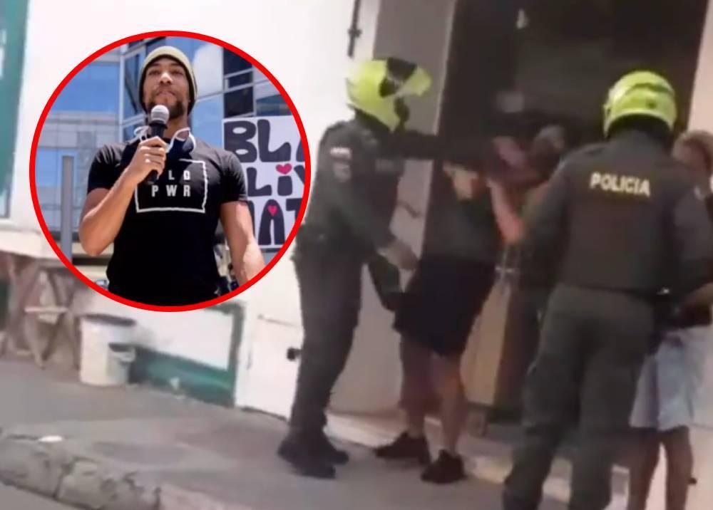 Presunto abuso policial contra actor estadounidense