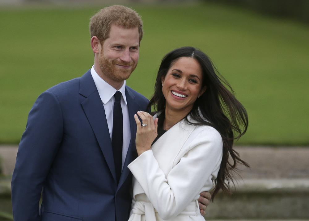 353061_BLU Radio. Príncipe Harry y Meghan // Foto: AFP