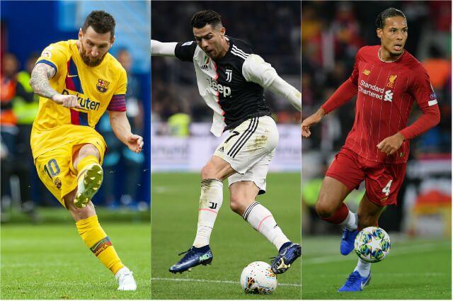 323449_Lionel Messi, Cristiano Ronaldo y Virgil van Dijk