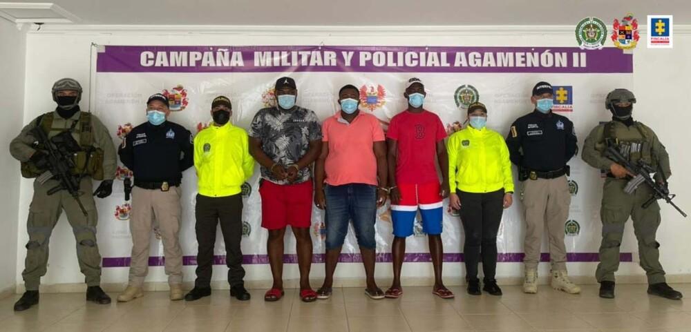 Capturados para extradición a EE. UU.