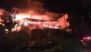 Incendio en Floridablanca, Santander, destruyó seis viviendas